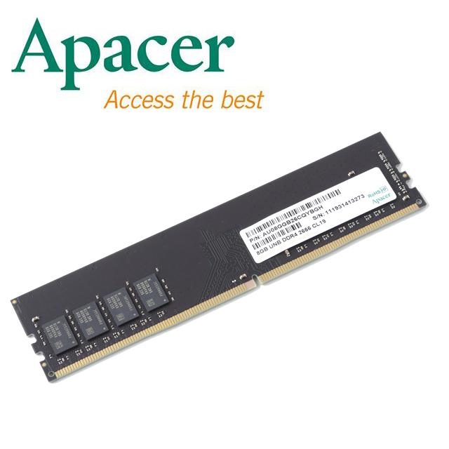 Apacer 8GB DDR4 2666 桌上型記憶體