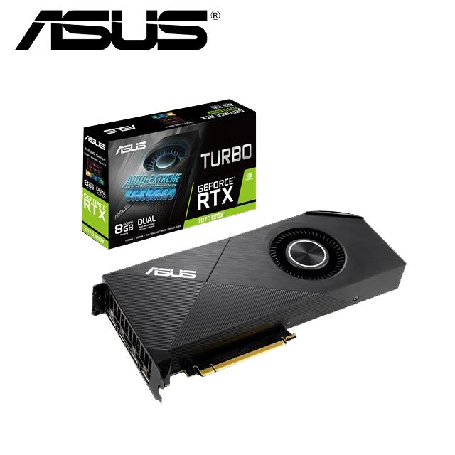 華碩ASUS Turbo GeForce® RTX 2070 SUPER™ 8G EVO 顯示卡
