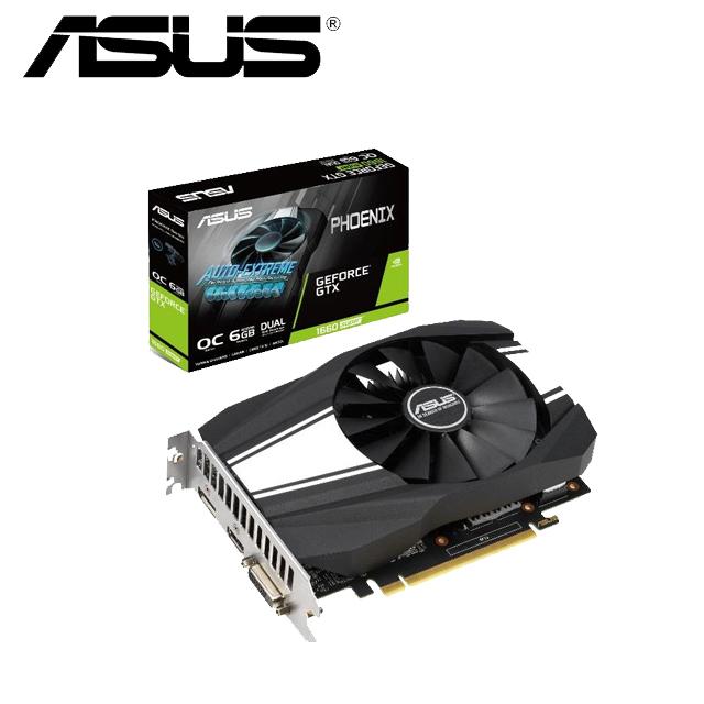 華碩ASUS PH GeForce® GTX 1660 SUPER™ O6G 顯示卡