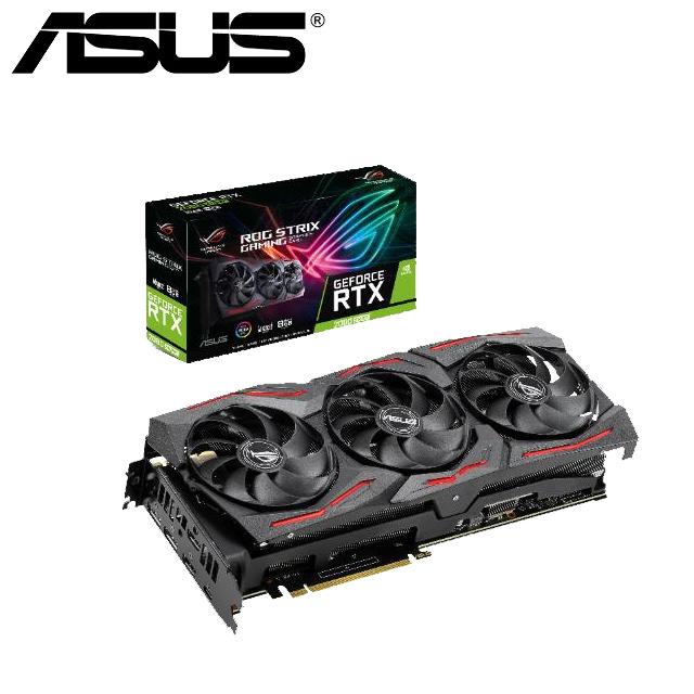 華碩 ASUS ROG Strix GeForce® RTX 2080 SUPER™ A8G GAMING 顯示卡