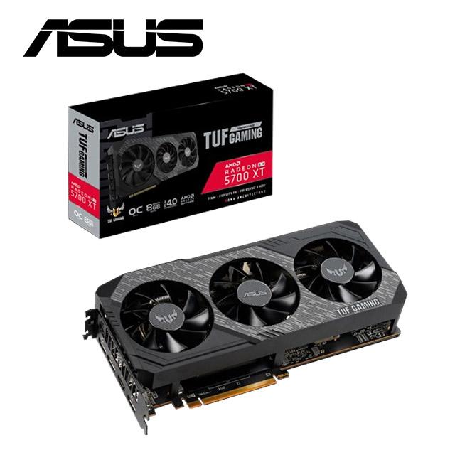 華碩ASUS TUF 3 Radeon™ RX 5700 XT EVO  GAMING 顯示卡