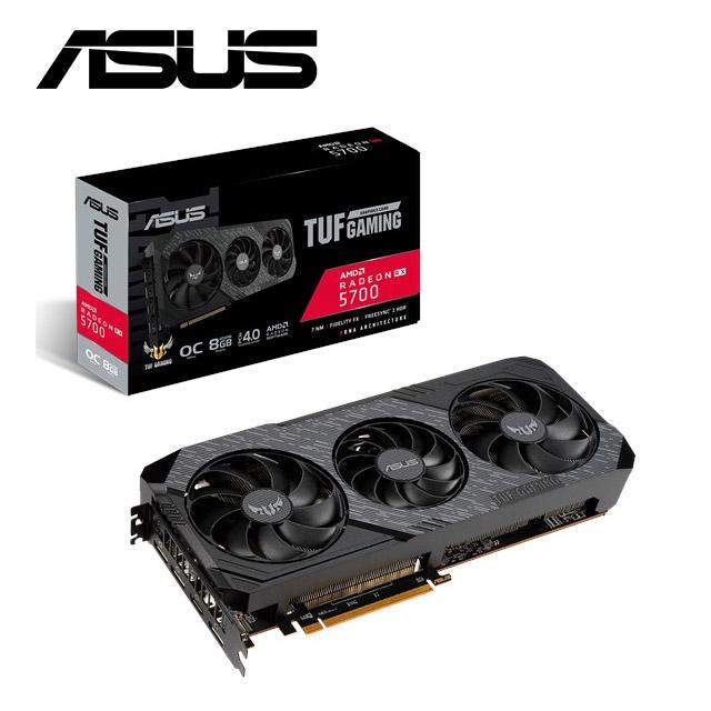 華碩ASUS TUF 3 Radeon™ RX 5700  EVO  GAMING 顯示卡