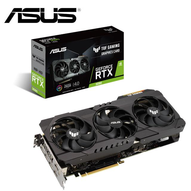 ASUS 華碩TUF GeForce RTX 3090 24G GAMING 顯示卡