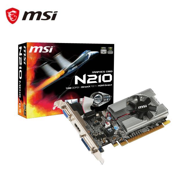 微星N210-MD1G/D3 顯示卡