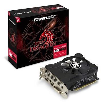 撼訊AXRX 550 2GBD5-DHA/OC RedDragon 2GB GDDR5 128bit PCI-E 顯示卡