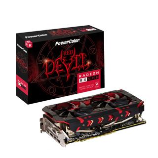 撼訊AXRX 590 8GBD5-3DH/OC RedDevil 8G GDDR5 256bit AMD 顯示卡