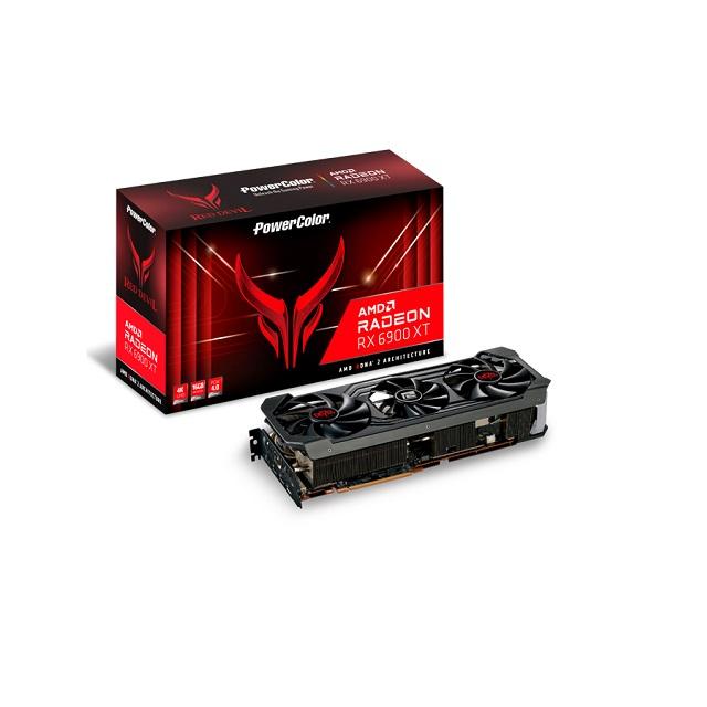 撼訊RX 6900 XT Red Devil OC RGB 16G GDDR6 256bit 顯示卡