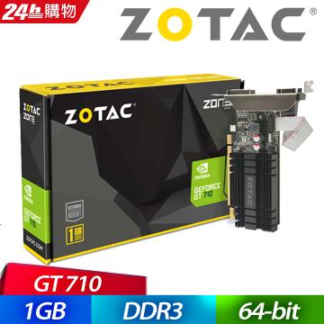 ZOTAC GeForce GT 710 1GD3 L 顯示卡