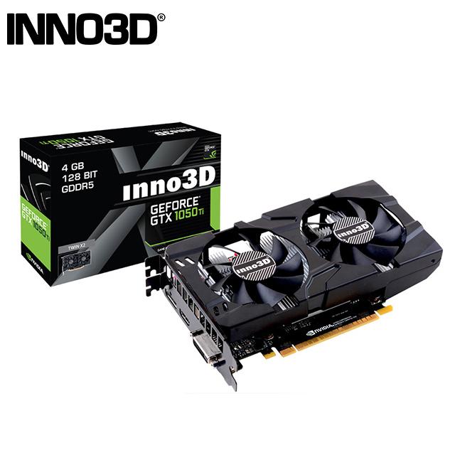 INNO3D映眾 Geforce GTX 1050 Ti 4GB GDDR5 TWIN X2 顯示卡