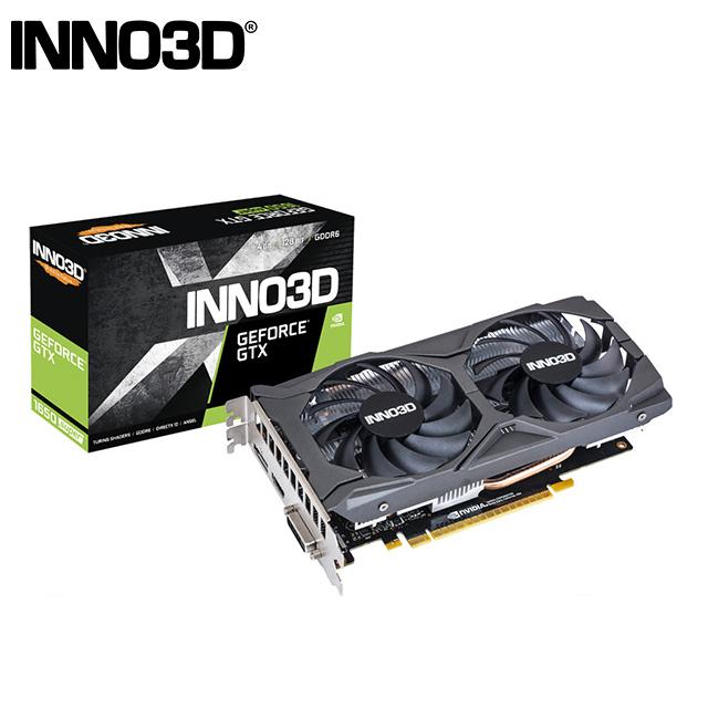 INNO3D映眾 Geforce GTX 1650 SUPER 4GB GDDR6 TWIN X2 OC 顯示卡