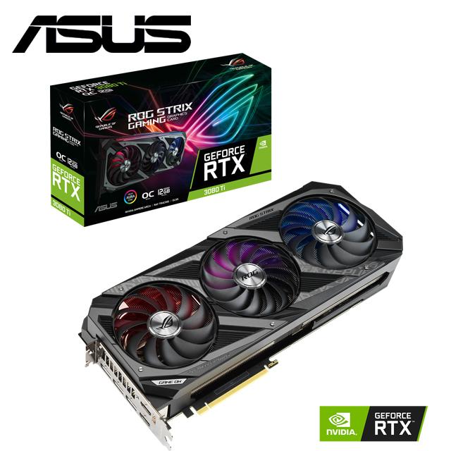 華碩 ROG-STRIX-RTX3080TI-O12G-GAMING 顯示卡+X570-F+1000W+SSD 外接盒+SDR-08B1U