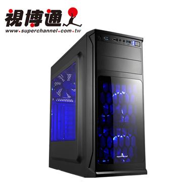 視博通 SH002(B) 精靈使者 ATX(2)大(5)小 電腦機殼