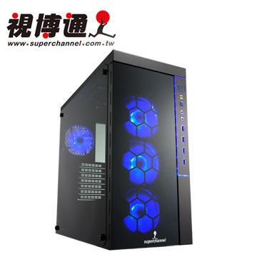 視博通 SPC002B 魔幻戰士 ATX(0)大(9)小 電腦機殼(三面強化玻璃)