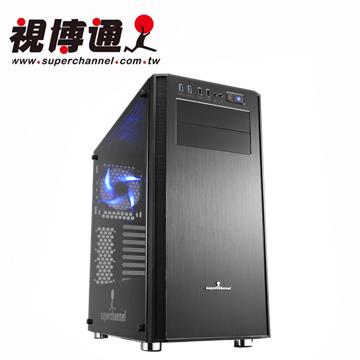 視博通SAV001(B)巨魔戰士ATX電腦機殼(玻璃側板)