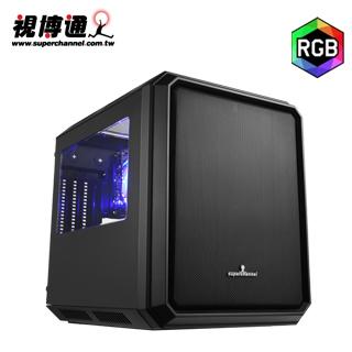 視博通 GC03(B) 小尖兵 RGB M-ATX電腦機殼