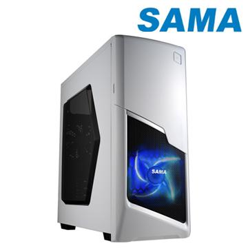 視博通 SAP004(W) 生化者ATX(2)大(5)小 電腦機殼 (白)