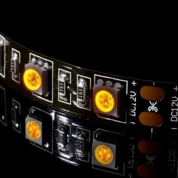 DIY電腦機殼改裝 LED 燈條(黃光)
