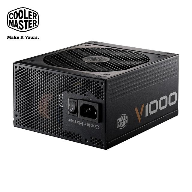 Cooler Master V全模組化 80Plus金牌 1000W 電源供應器