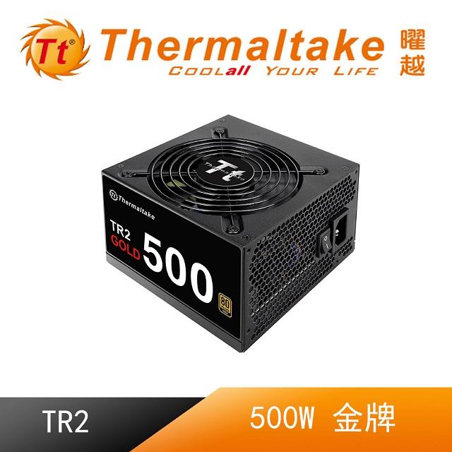 Thermaltake曜越 TR2 500W 金牌電源供應器