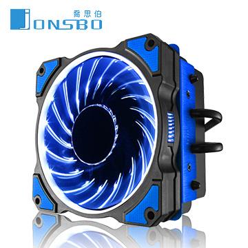 JONSBO CR-101下壓式CPU散熱器(藍色)
