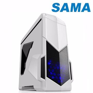 先馬 影子戰士 ATX(3)大(7)小 電腦機殼(白色)