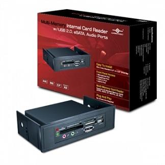 凡達克多功能內置讀卡機-搭載USB 2.0, eSATA, 音效埠(UGT-CR960)