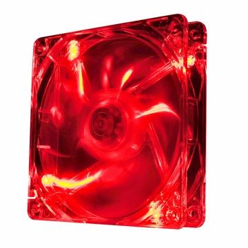 曜越Thermaltake Pure 12公分LED DC 散熱風扇(紅)