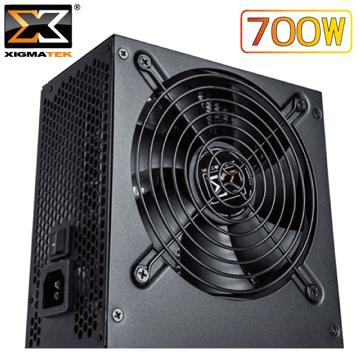 Xigmatek Shogun 700W 80+銅牌電源供應器 (全日系電容 / 單路 12V 37.5A
