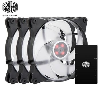 Cooler Master MasterFan Pro 140 Air Pressure RGB 3合1組