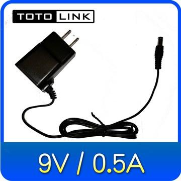 TOTOLINK AC/DC電源供應器 (9V/0.5A) 變壓器