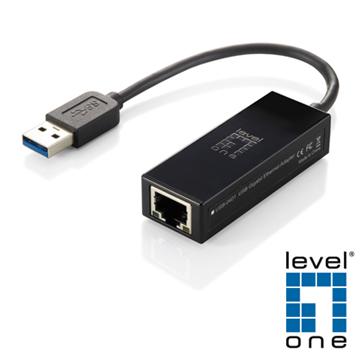 【LevelOne】超高速Gigabit USB網卡 USB-0401