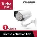 QNAP 威聯通 LIC-CAM-NAS-1CH 1支 IP-Cam 授權包