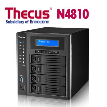 Thecus 色卡司 N4810 4Bay NAS 網路儲存伺服器