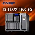 QNAP 威聯通 TS-1677X-1600-8G NAS (16Bay/AMD/8G) 網路儲存伺服器(不含硬碟)
