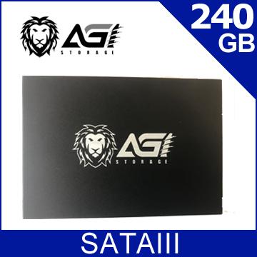 AGI 240GB 2.5吋 SATAIII SSD