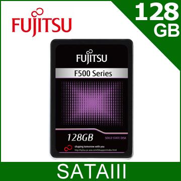 Fujitsu F500 128GB 2.5吋 SATAIII SSD固態硬碟