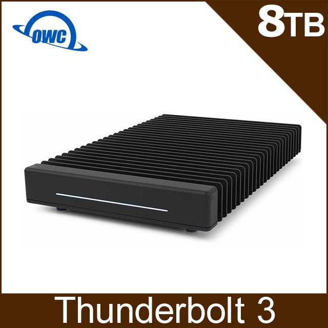 OWC ThunderBlade 8TB NVMe M.2 四槽外接式固態硬碟 Thunderbolt3