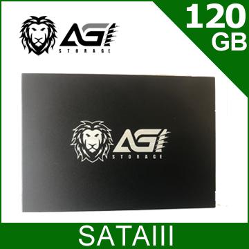 AGI 120GB 2.5吋 SATAIII SSD
