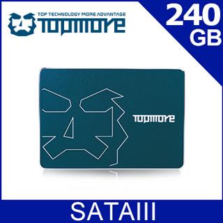 達墨TOPMORE 240GB 2.5吋SATAIII SSD(TLC)