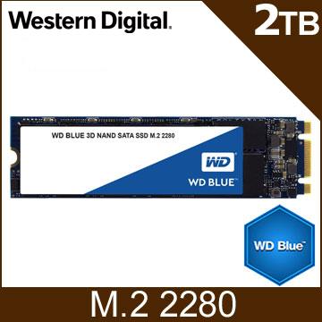 送保溫瓶 WD SSD 2TB M.2 SATA 3D NAND固態硬碟