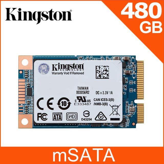 金士頓 Kingston UV500 (mSATA) SATA-3 480GB SSD 固態硬碟 (SUV500MS/ 480G)