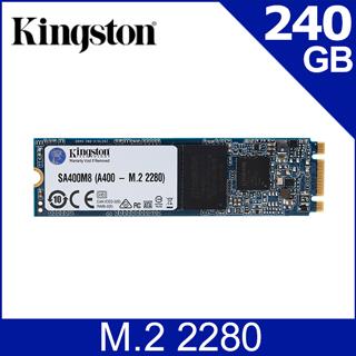 金士頓 Kingston SSDNow A400 240GB (M.2 2280) SATA-3 固態硬碟 (SA400M8/240G)