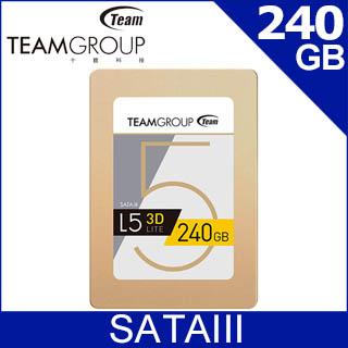 Team 十銓 L5 Lite 240GB 2.5吋 SSD固態硬碟
