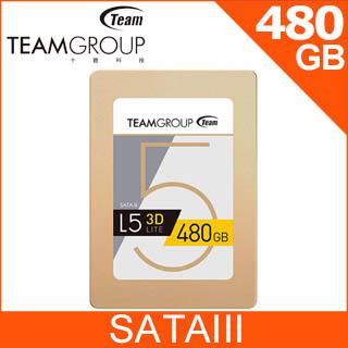 Team 十銓 L5 Lite 480GB 2.5吋 SSD固態硬碟
