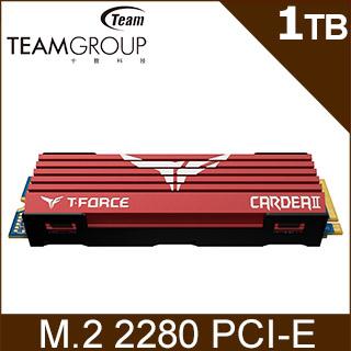 TEAM 十銓 T-Force Cardea II 1TB M.2 2280 PCI-E SSD固態硬碟