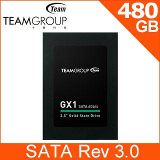 Team 十銓 GX1 480GB 2.5吋 SSD固態硬碟
