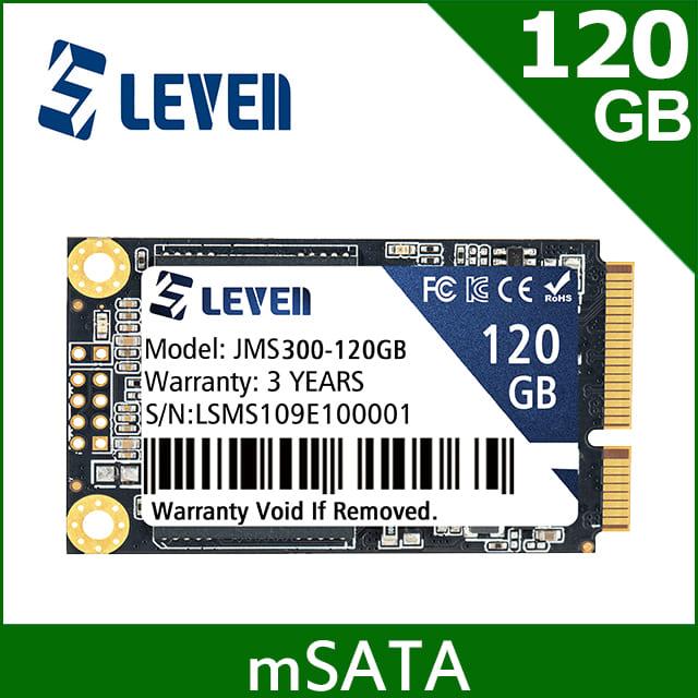 LEVEN 獵穩 JMS300系列 120GB (mSATA) SATA III SSD 固態硬碟