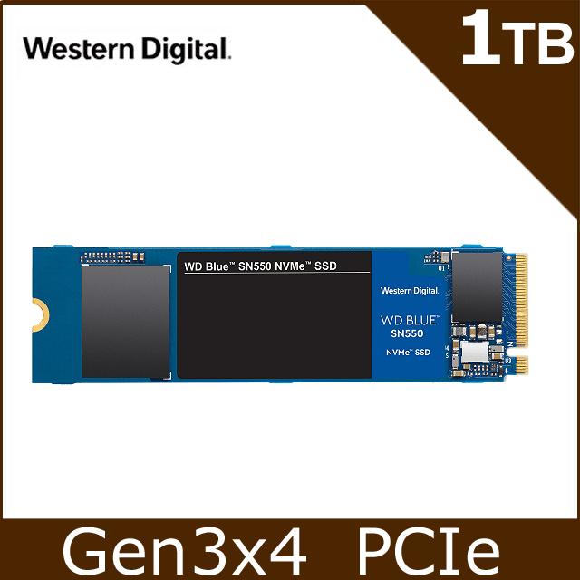 WD SN550 1TB PCIe SSD + 華碩ASUS M.2 外接盒
