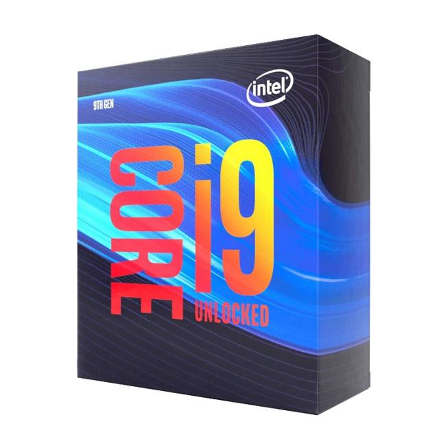 Intel 英特爾 Core i9-9900K 紙盒版 Processor 16MB 快取 Turbo Boost 最高瞬間 5.00 GHz