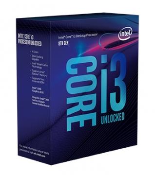 Intel Core i3 8100 中央處理器(盒裝)